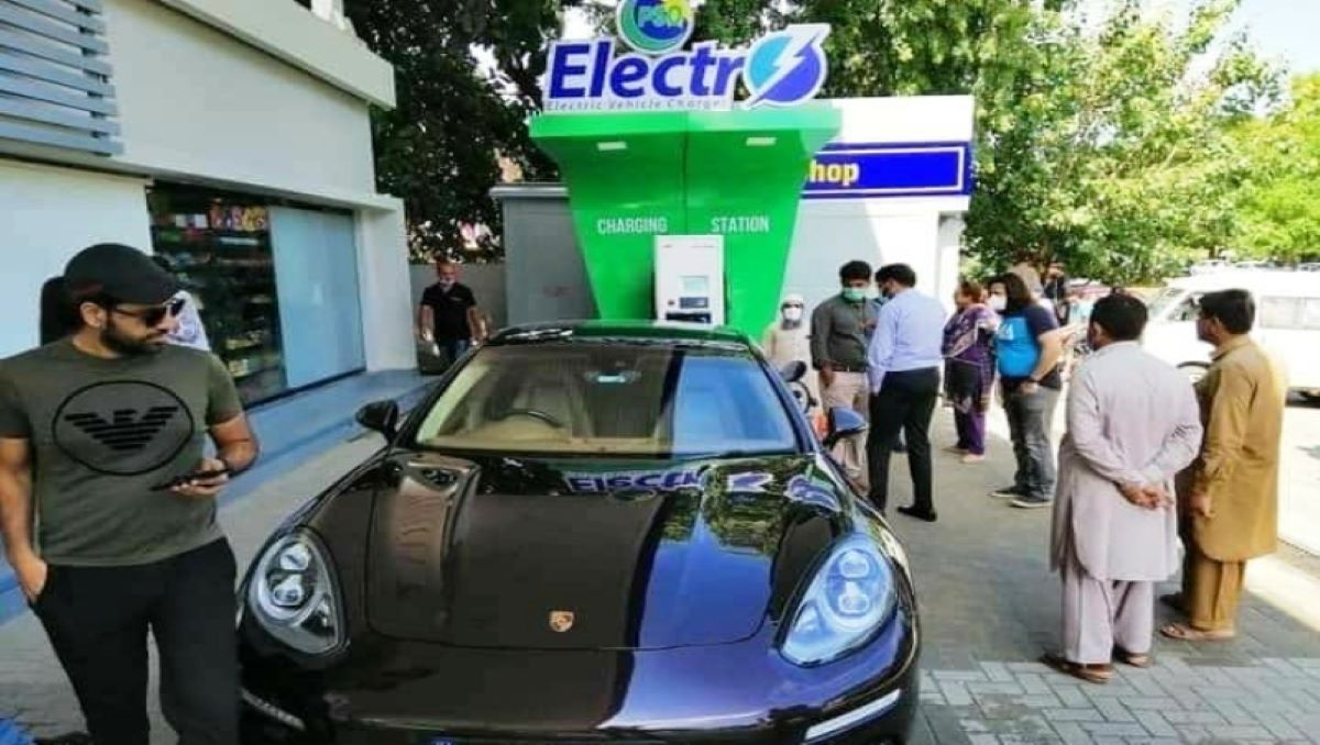 First Electric Vehicle Charging Station In Islamabad, Pakistan